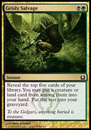 Grisly Salvage, Return to Ravnica
