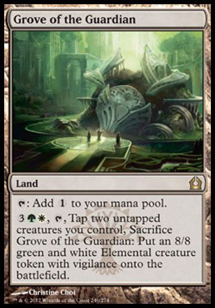 Grove of the Guardian, Return to Ravnica