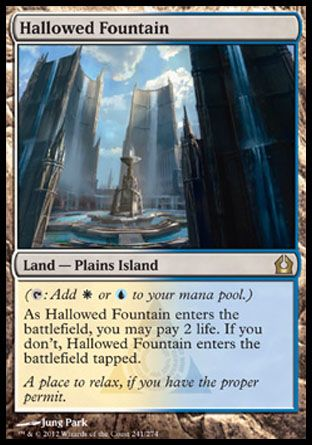 Hallowed Fountain, Return to Ravnica