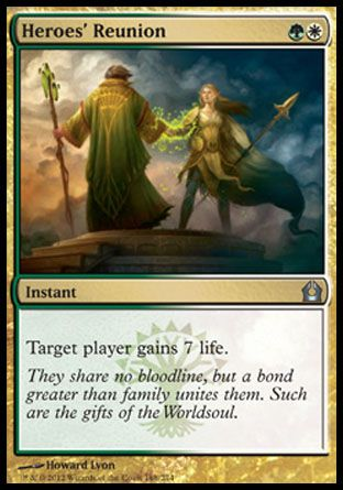 Heroes' Reunion, Return to Ravnica