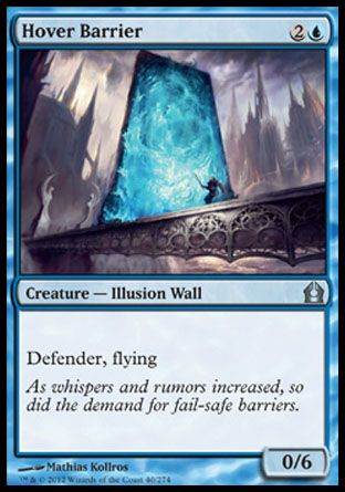 Hover Barrier, Return to Ravnica