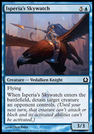 Isperia's Skywatch, Return to Ravnica