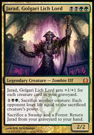 Jarad, Golgari Lich Lord, Return to Ravnica