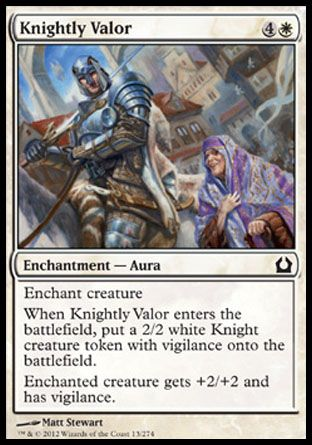 Knightly Valor, Return to Ravnica