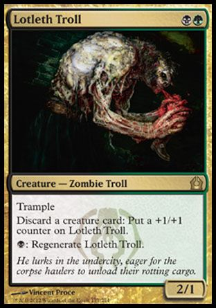 Lotleth Troll, Return to Ravnica