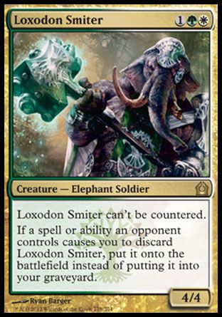 Loxodon Smiter, Return to Ravnica