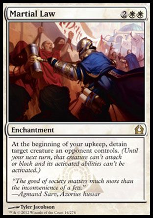 Martial Law, Return to Ravnica