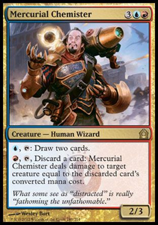 Mercurial Chemister, Return to Ravnica