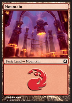 Mountain, Return to Ravnica