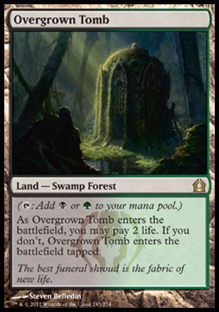 Overgrown Tomb, Return to Ravnica