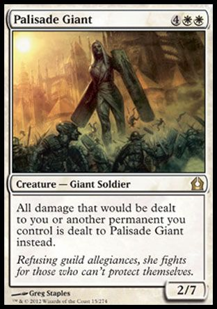 Palisade Giant, Return to Ravnica