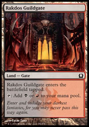 Rakdos Guildgate, Return to Ravnica