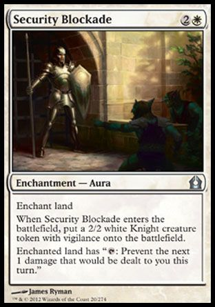 Security Blockade, Return to Ravnica