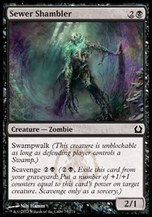 Sewer Shambler, Return to Ravnica