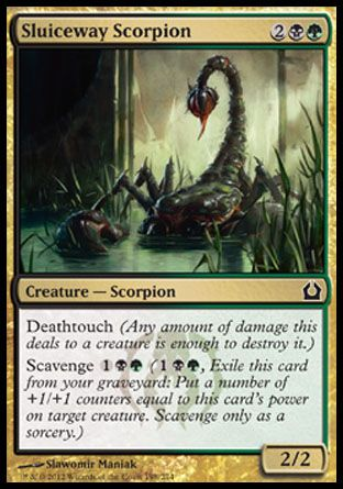 Sluiceway Scorpion, Return to Ravnica