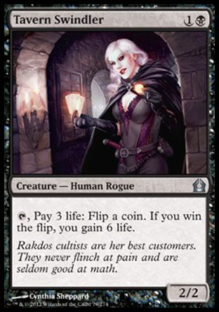 Tavern Swindler, Return to Ravnica