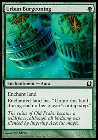 Urban Burgeoning, Return to Ravnica
