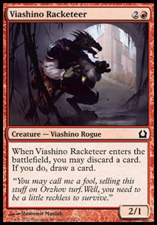 Viashino Racketeer, Return to Ravnica