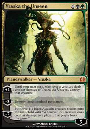 Vraska the Unseen, Return to Ravnica