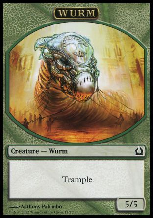 Wurm token, Return to Ravnica