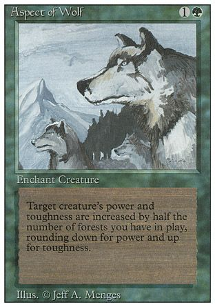 Aspect of Wolf, Revised
