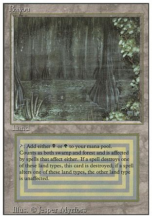 Bayou, Revised