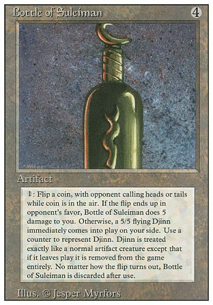 Bottle of Suleiman, Revised