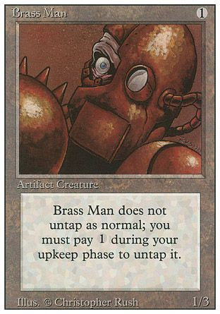 Brass Man, Revised