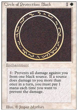 Circle of Protection: Black, Revised