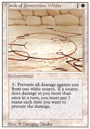 Circle of Protection: White, Revised