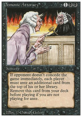 Demonic Attorney, Revised