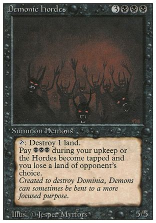 Demonic Hordes, Revised