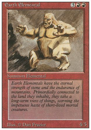 Earth Elemental, Revised