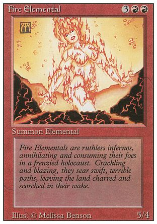 Fire Elemental, Revised