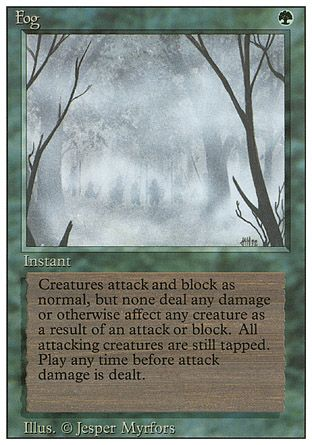 Fog, Revised