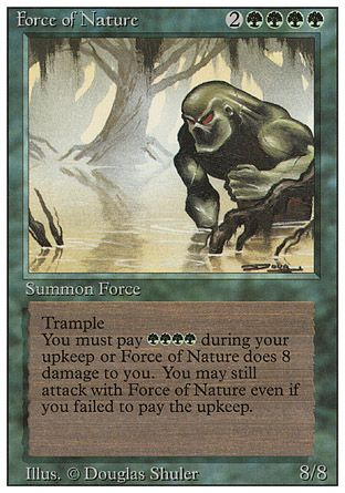 Force of Nature, Revised