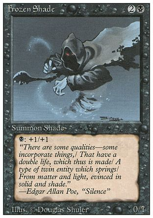 Frozen Shade, Revised