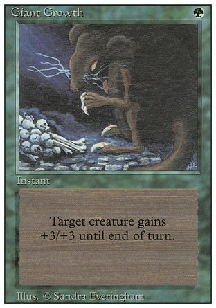 Giant Growth, Revised