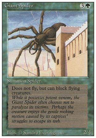 Giant Spider, Revised