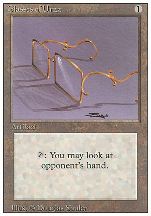 Glasses of Urza, Revised