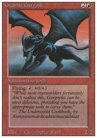 Granite Gargoyle, Revised