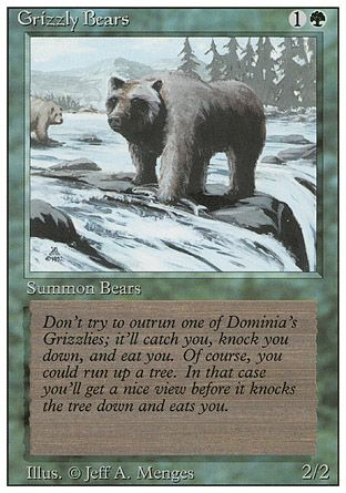 Grizzly Bears, Revised