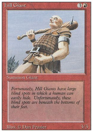 Hill Giant, Revised