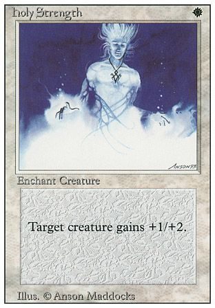 Holy Strength, Revised