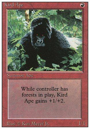 Kird Ape, Revised