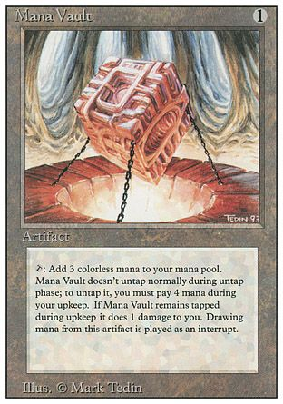 Mana Vault, Revised