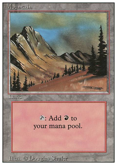 Mountain, Revised