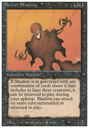 Nether Shadow, Revised