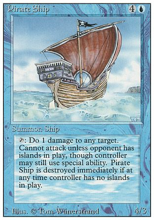 Pirate Ship, Revised