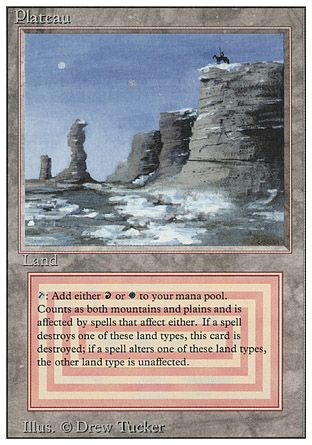 Plateau, Revised
